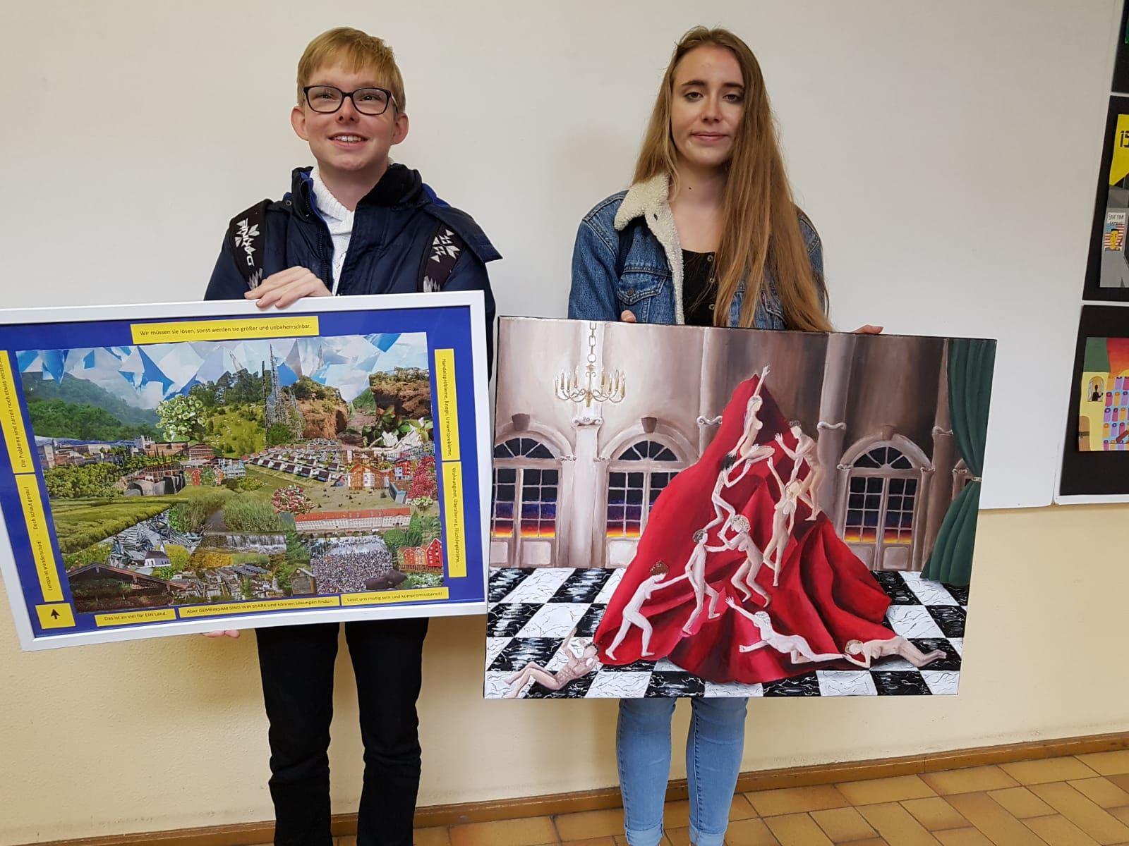 Europawettbewerb Sieger Giulia Losch Kai Schürrmann