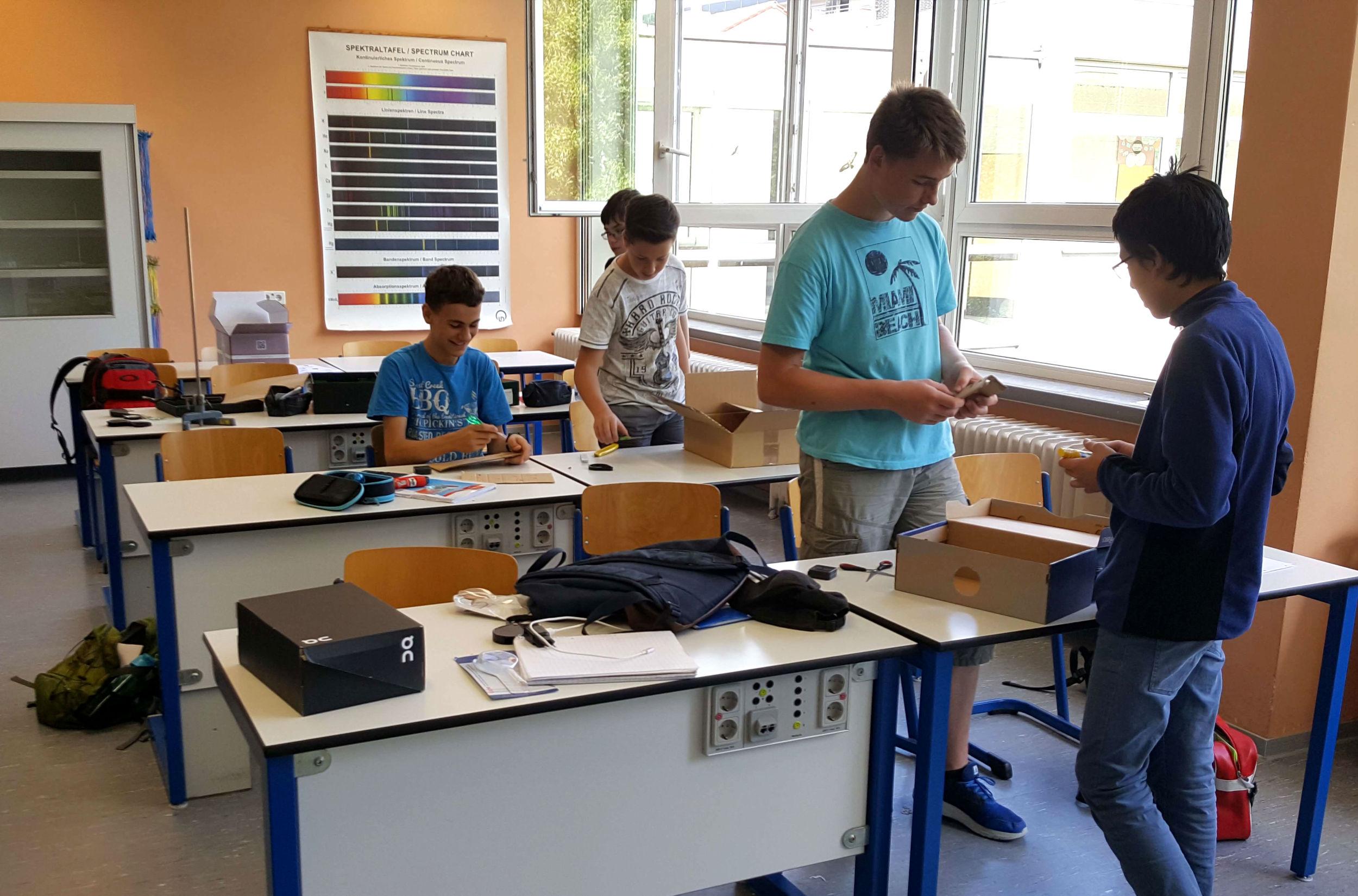 Physik mit dem Smartphone Projekt