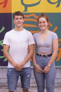 Schülersprecher und Stellvertreterin
